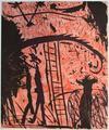 St Georges et le Dragon by Louis Cane