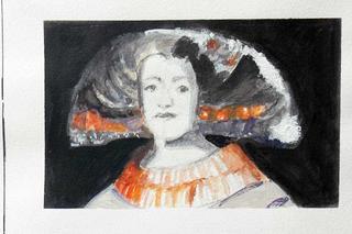 Retrato 2 by Teresa Muñoz