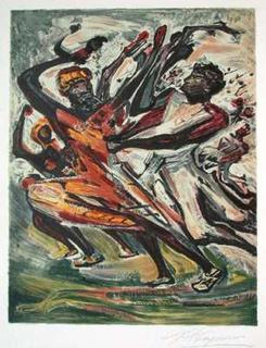Danse Rythmée by David Alfaro Siqueiros