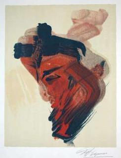 Portrait by David Alfaro Siqueiros