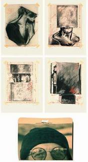 4 études d'oblitérations by Sacha Sosno