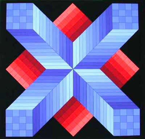 Victor Vasarely Famous Paintings