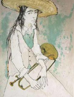 Le Clairon by Jean Jansem