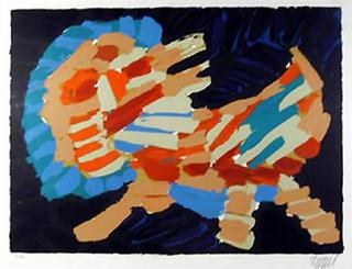Cat 5 by Karel Appel