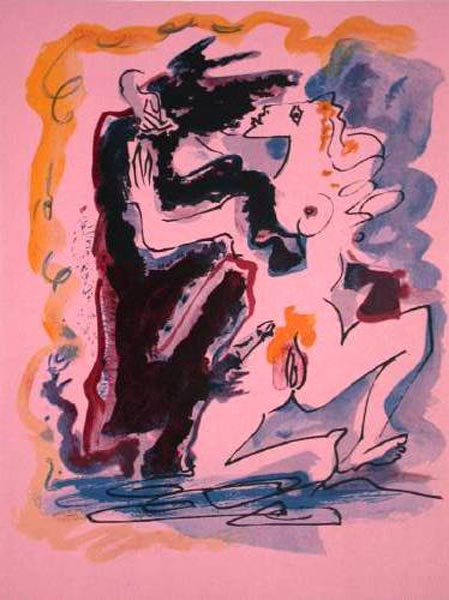 Dessin érotique II by Andre Masson