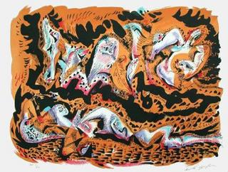 Mermaids by Andre Masson