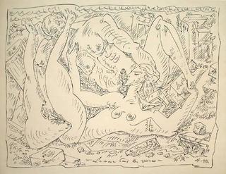 Terre érotique VI by Andre Masson
