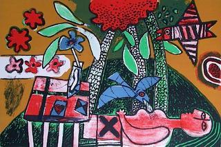 La Table à l'as de Coeur by Corneille