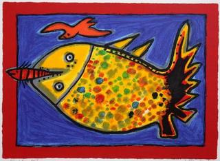 Poisson I by Corneille