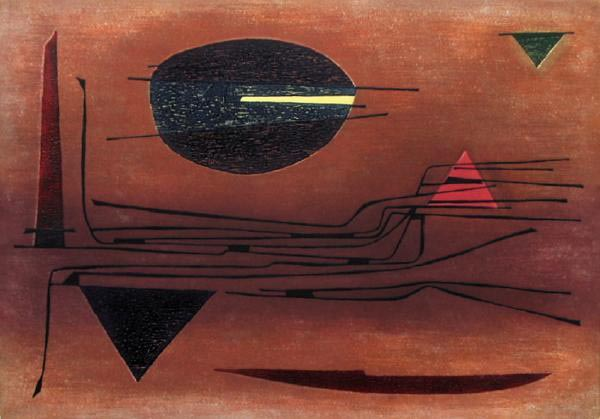 Vallée - Nuit by Gustave Singier
