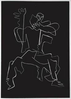 Sept Calligrammes d'Apollinaire 03 by Ossip Zadkine