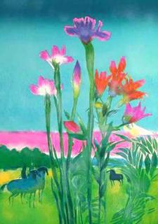 Les Grands Iris by Paul Guiramand