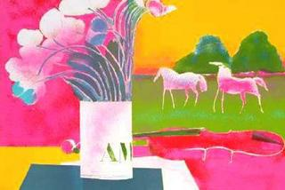 Still Life with Landscape by Paul Guiramand