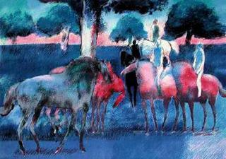 Rendez-vous des Cavaliers by Paul Guiramand