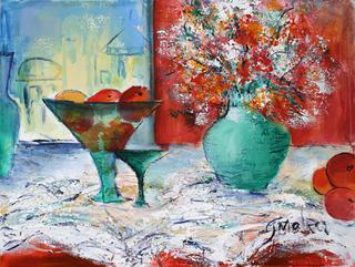 Still Life - 9 by Malka Tsentsiper