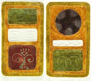 Enigma IV / Enigma V by Blanca Rabadán