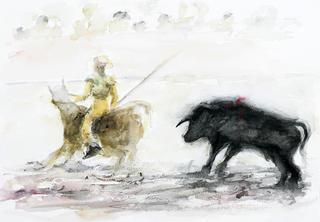 Bulls IV by Margarita de Grassa