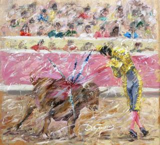 Bulls V by Margarita de Grassa