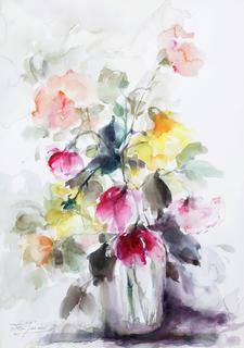 Roses by Margarita de Grassa