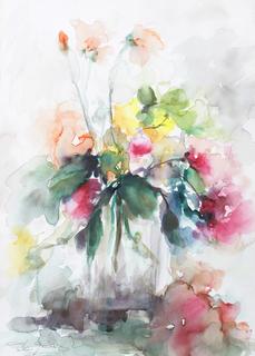 Roses Opus III by Margarita de Grassa