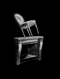 Furniture XI by Juan Muñoz