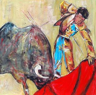 Bullfighter by Soledad Fernández