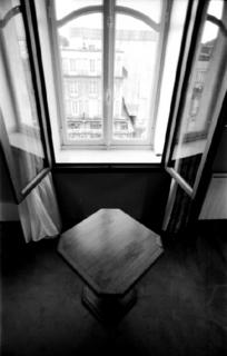 Hotel Window - France (Homage to Sieff) by Tiziano Micci