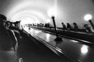 1988 - Moscow Subway 1 by Tiziano Micci