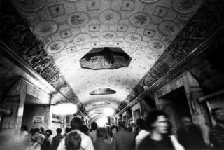 1988 - Moscow Subway 2 by Tiziano Micci
