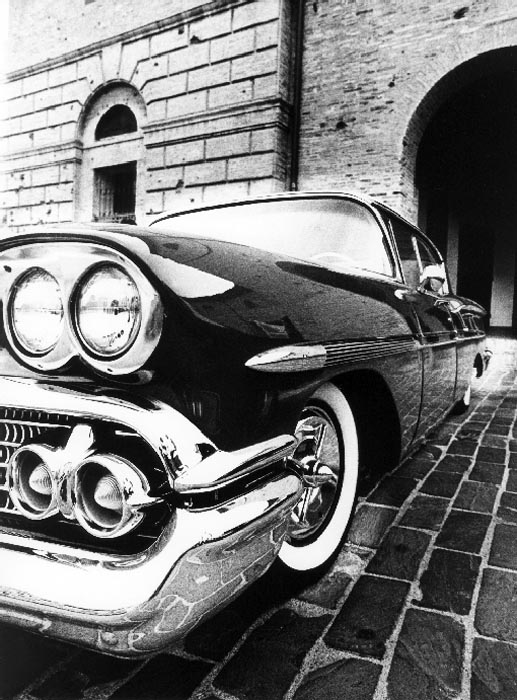 Vintage Car 1 - Italy by Tiziano Micci