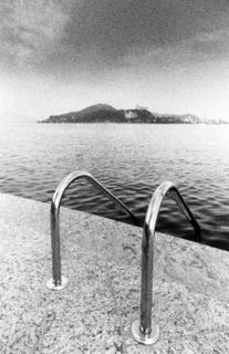 Lake Maggiore, Italy, view from Arona by Tiziano Micci