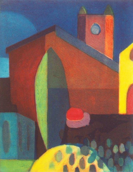 In the Village II by Tomás Pariente