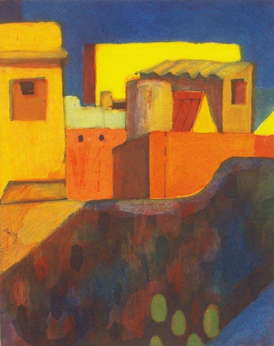 In the Village III by Tomás Pariente
