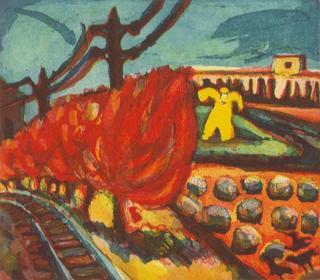 Scarecrow by Tomás Pariente