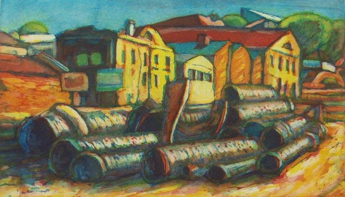 The Tubes by Tomás Pariente