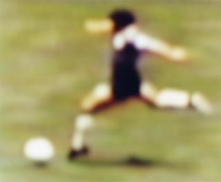 Epiphany - 54 Maradona by Robert Davies