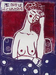 I Have a Head Ache by Cristina Gayarre