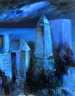 New York Views by Sacho Pioláss