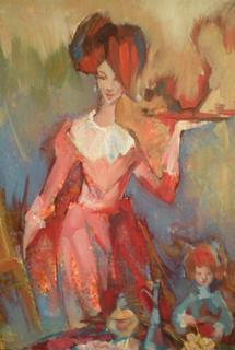 Cafe by Irina Privedentseva
