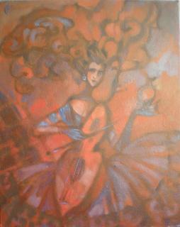 Musician by Irina Privedentseva