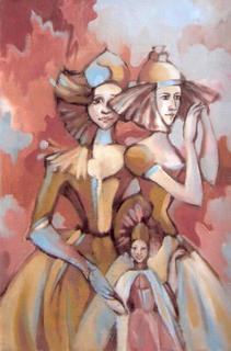 Three Magic Woman by Irina Privedentseva