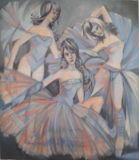 Blue Dance by Irina Privedentseva