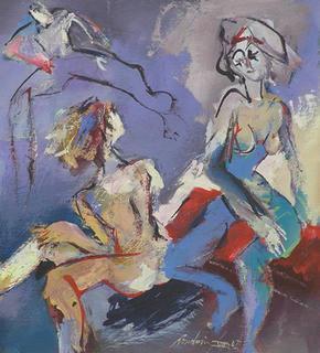 Nudi Femminili by Manlio Rondoni