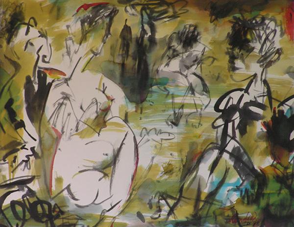 Colazione sull'erba by Manlio Rondoni