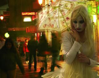 Urban Geisha by Daniel Bellido