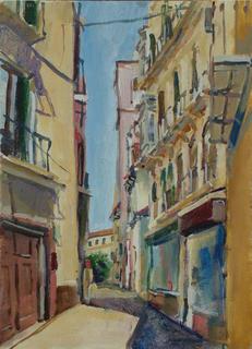 Malaga City - 3 by John Govett
