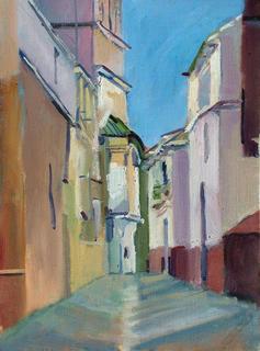 Malaga City - 1 by John Govett