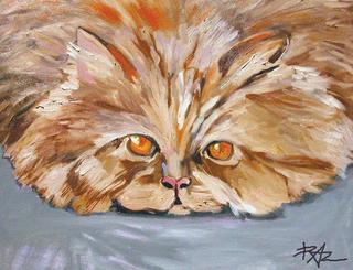 My Cat by Moshe Paz