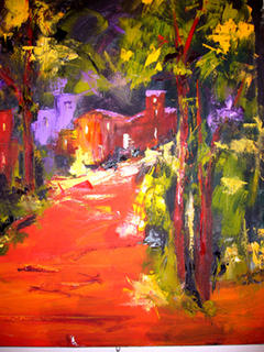 Red Path by Madame Itty