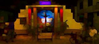 Shrine XX (The Easter Shrines Series) by Henry Bateman